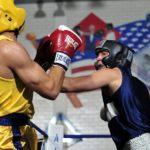 Занятия боксом для начинающих в клубе Цезарь